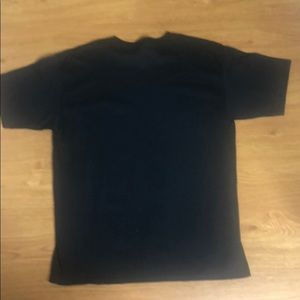 Shirts - Black and White Short Sleeve Graphic Tee Size XL